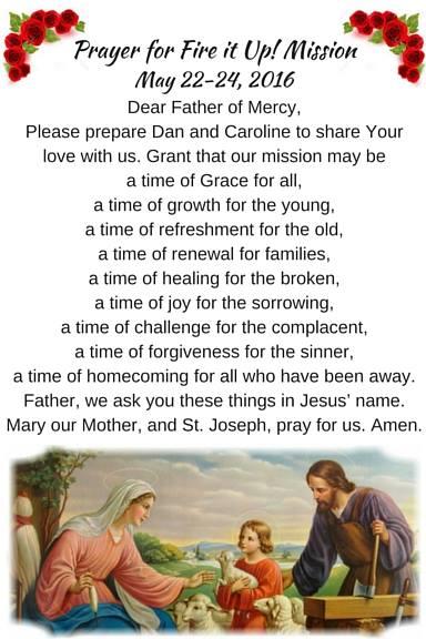 parish mission prayer